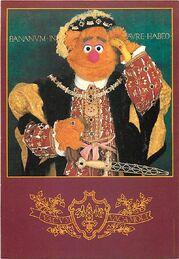 Kermitage postcard holbein