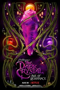 Dark Crystal Age of Resistance poster by La Boca