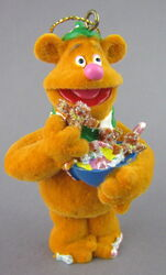 Disney store fozzie bear christmas storybook ornament