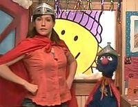 Kelly Vrooman as Super Grover