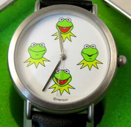 Kermit collection watch four faces 2