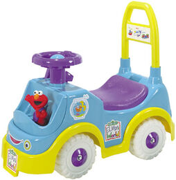 Processed plastic company pp elmo's world rider 1