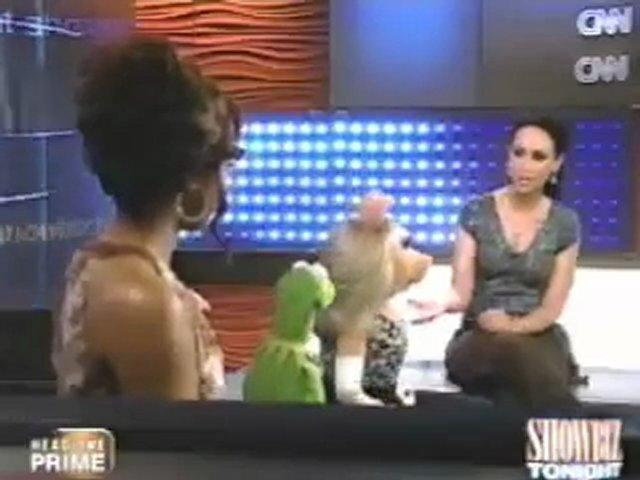 Showbiz Tonight Ashanti Kermit Piggy