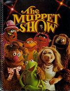 Stuart hall 1977 notebook muppet show cast