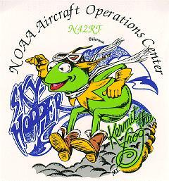 Kermit plane logo