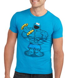 Mad engine 2014 buff cookie monster shirt