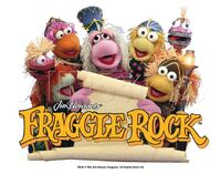 Poster Fraggle Rock-Reading Fraggle Rock