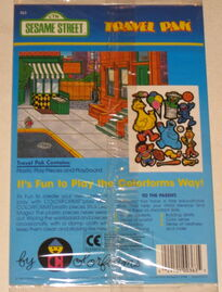 Sesame street 1986 travel pak 2
