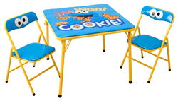 Delta children's products 2011 cookie monster table chairs