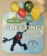 Drawing board greeting cards sign