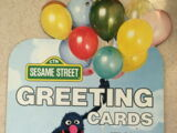 Sesame Street greeting cards (Drawing Board)