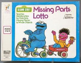 Milton bradley missing parts lotto