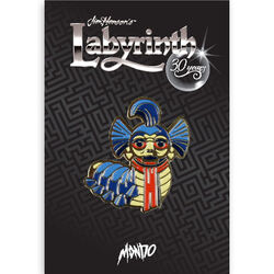 Mondo Labyrinth pin Worm packaging