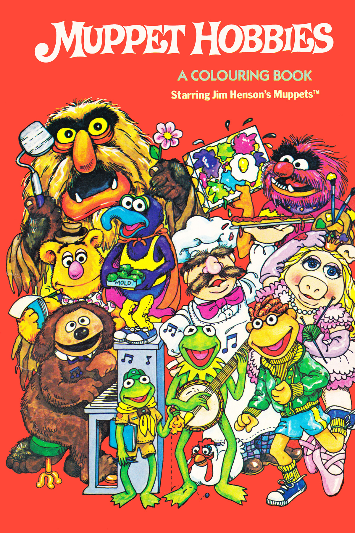 Muppet coloring books Muppet