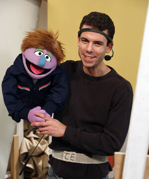 Paul McGinnis Sesame Street Photo Ambulance Driver Richard Termine