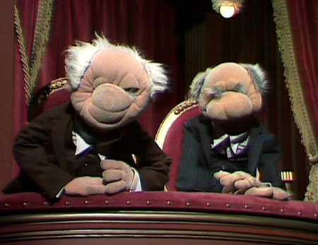 Geek Trivia The Two Grumpy Old Men From Muppet Show Were Named After