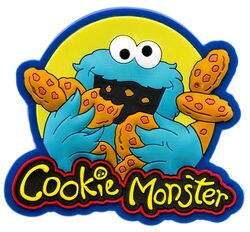 Sesame place magnet cookie