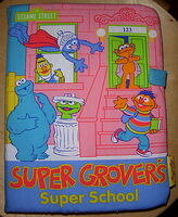 Super Grover Soft Books