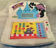 1993 tectron game count's talking numberland