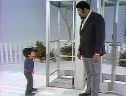Rosey Grier phonebooth