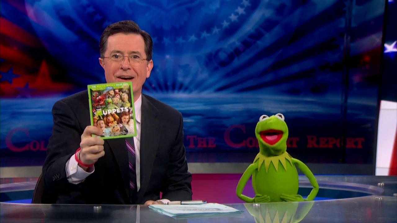 The Colbert Report Muppet Wiki Fandom Powered By Wikia