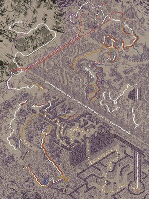 Cinemaps Labyrinth print