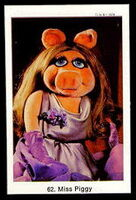 Sweden swap gum cards 62 miss piggy
