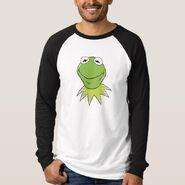 Zazzle kermit smiling shirt