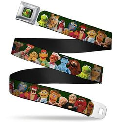 Buckle-down belt muppets 20-character group pose 1