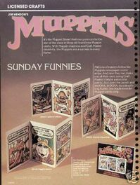 Fundimensions craft master 1982 sunday funnies ad gilchrist art