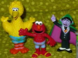 Sesame Street PVC figures (Sesame Place)