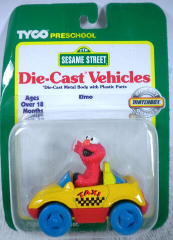 File:Tyco matchbox 1996 die-cast car elmo taxicab.jpg