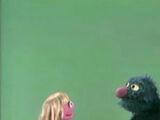 Cookie Monster and Prairie Dawn