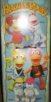 Hasbro1985FraggleDollsGroup