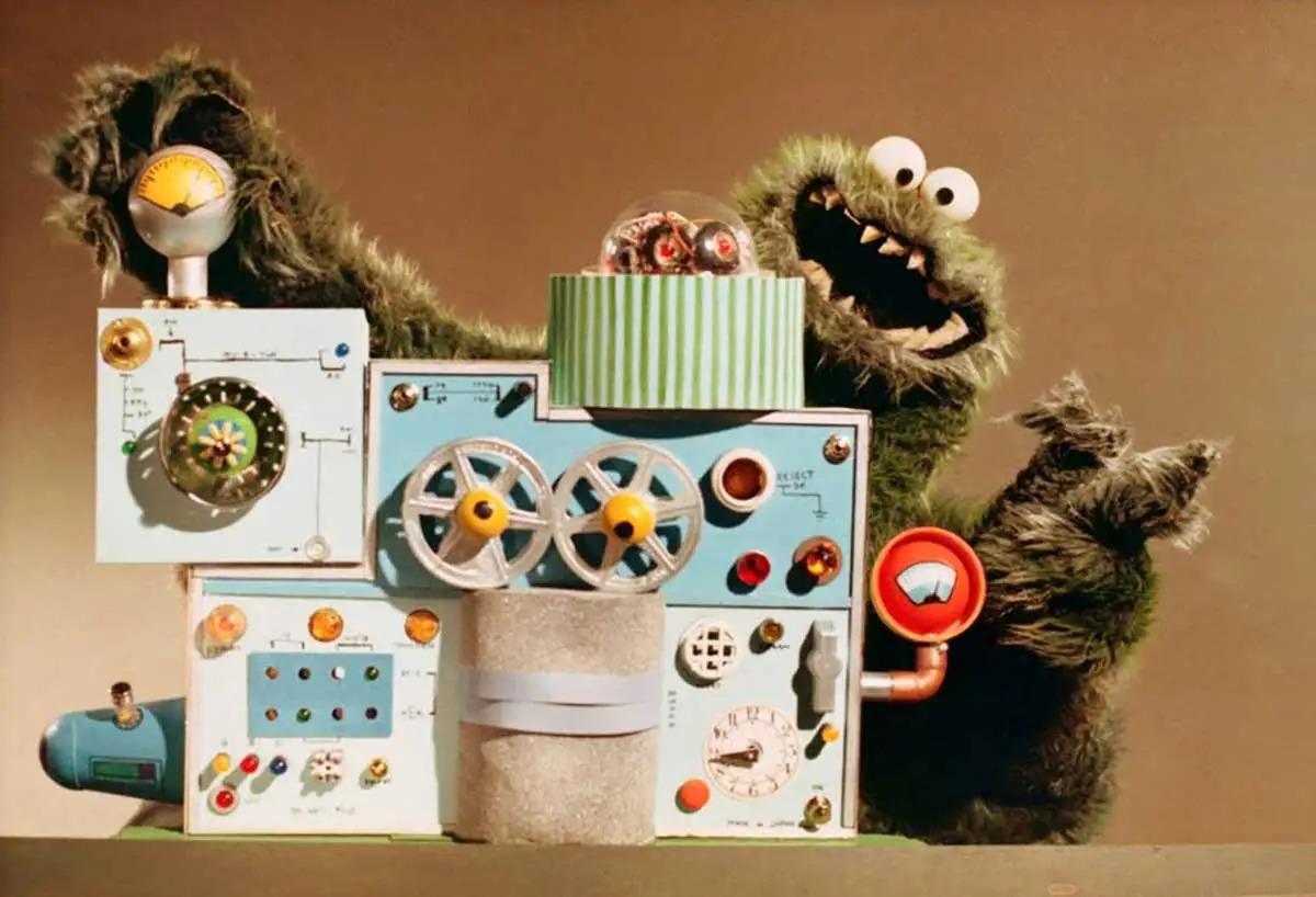 Image result for arnold the monster ibm machine