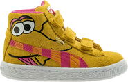 Puma big bird pink shoes