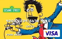 Sesame debit card 08 guy smiley