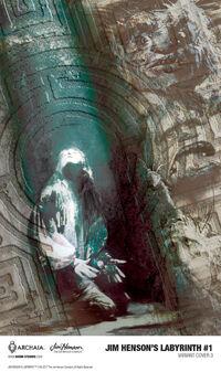 Labyrinth ongoing comic 01 Bill Sienkiewicz