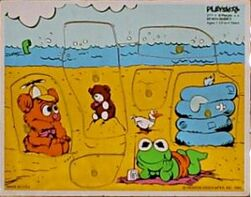 Playskool1984MuppBeachBabies6pcs