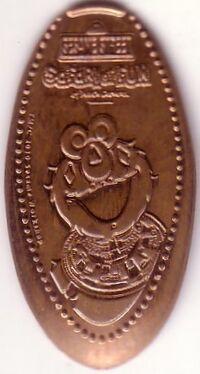 Busch gardens 2012ish pressed pennies elmo
