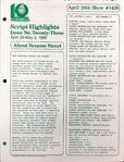 CTW Archives UMD Script Highlights Season 11-12 1426