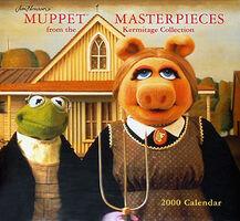 Jim Henson's Muppet Masterpieces Calendar
