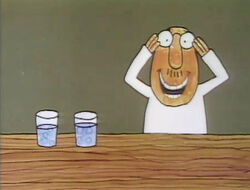 Cartoon glasses vs glasses