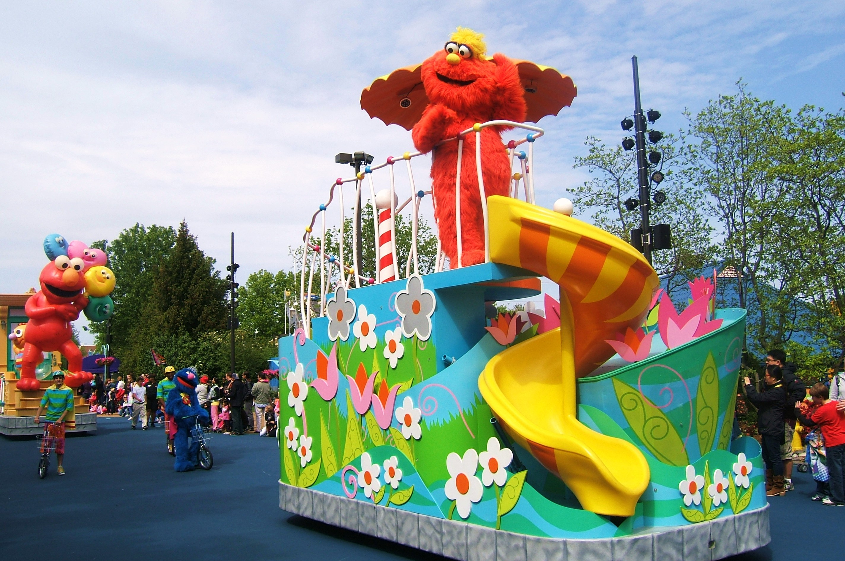 The Ducky Ride At Sesame Place In Philly Area