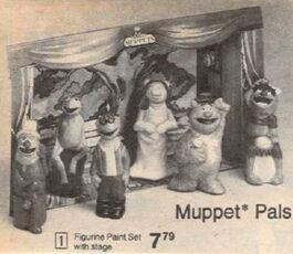 1977 muppet pals figs