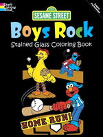 Dover boys rock coloring book