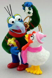 Gonzo disney ornament