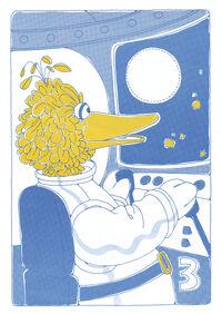 Sesame Street in Space Sticker Book 005