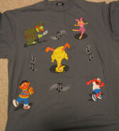Changes sesame dance t-shirt sesame general store front