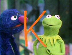 Kermit Draws K